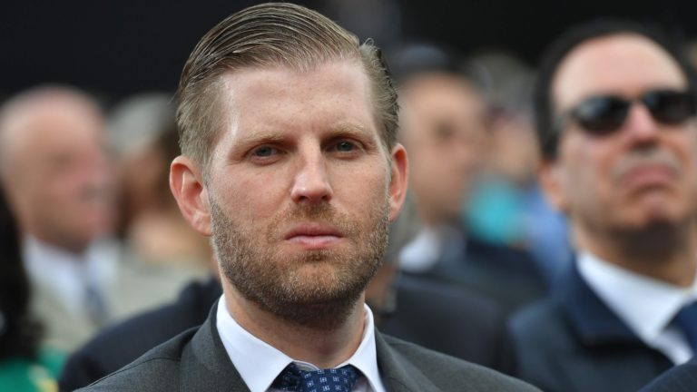 Eric trump: coronavirus shutdowns are democratic plot to forestall father from preserving rallies