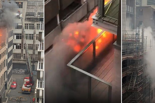 RECAP: Hearth bursts out at Northern Quarter tower block