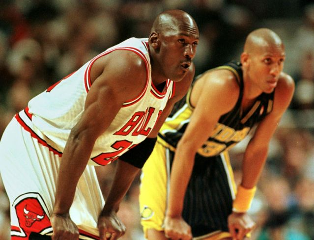 Reggie Miller admits he 'frivolously' pushed off Michael Jordan in 1998 Jap Convention finals