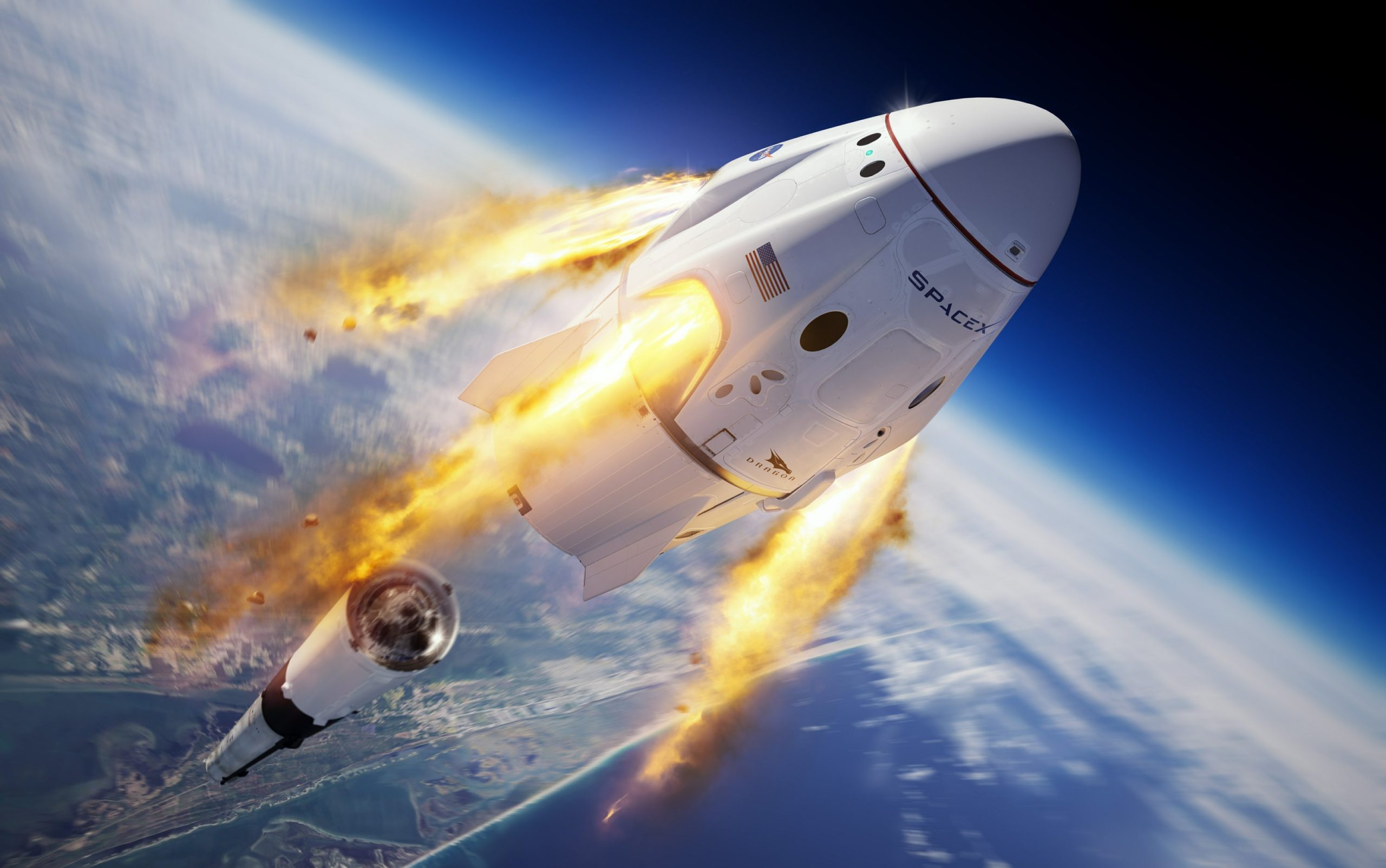 NASA Astronauts Go Again to the Future With Capsule Launch