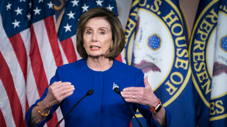 "Video: Pelosi calls Trump ""morbidly overweight"". The networks await the president's response"