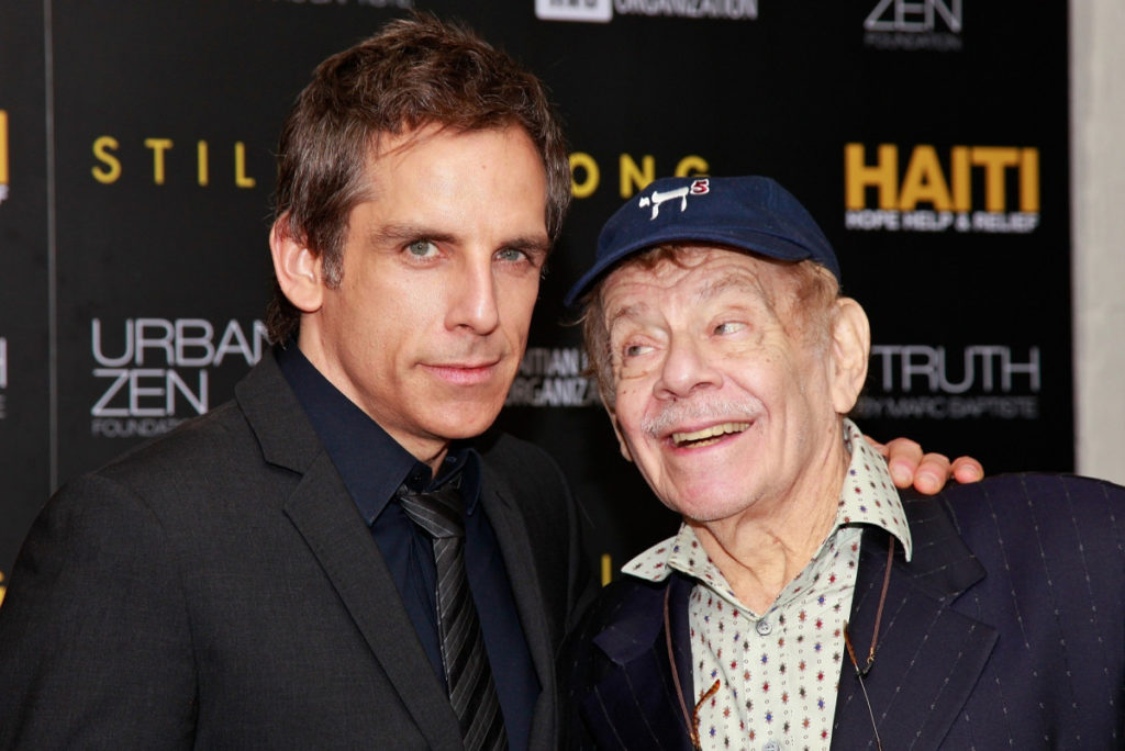 Ben Stiller will get emotional over father Jerry's excessive reward, says he may by no means be as humorous as his dad
