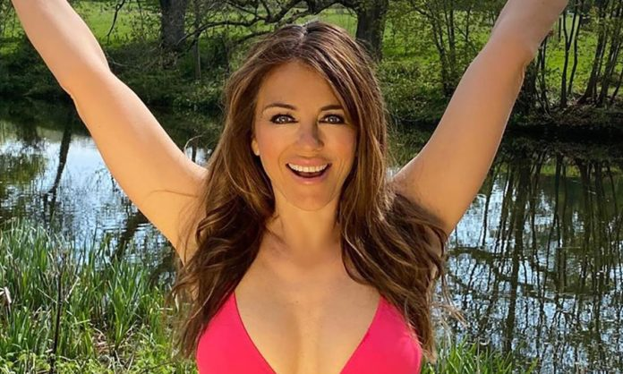 """Elizabeth Hurley """"Trying Ahead,quot; to her 55th Birthday – This is Why!"""