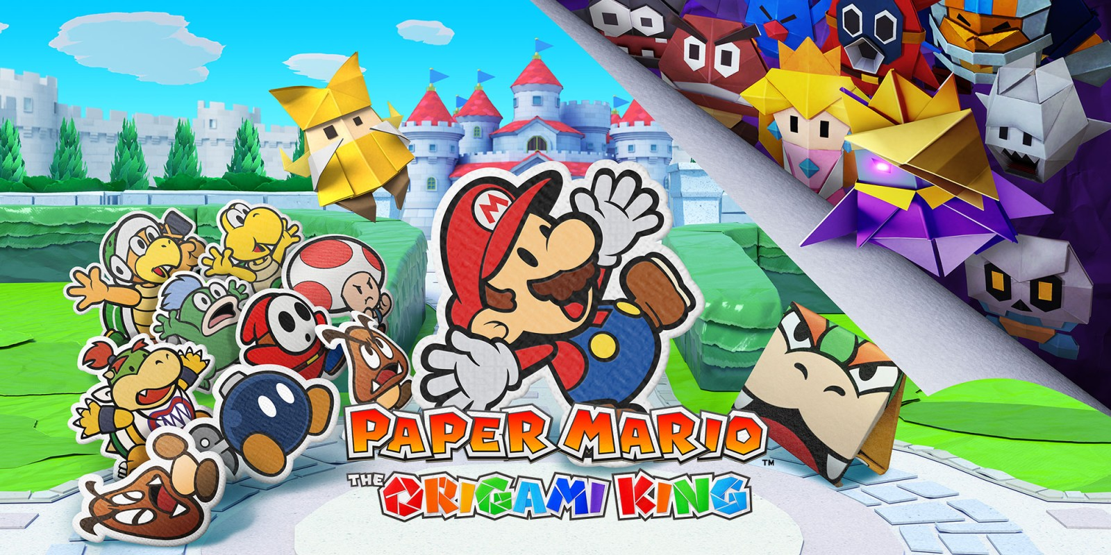 Paper Mario: The Origami King revealed with July launch date