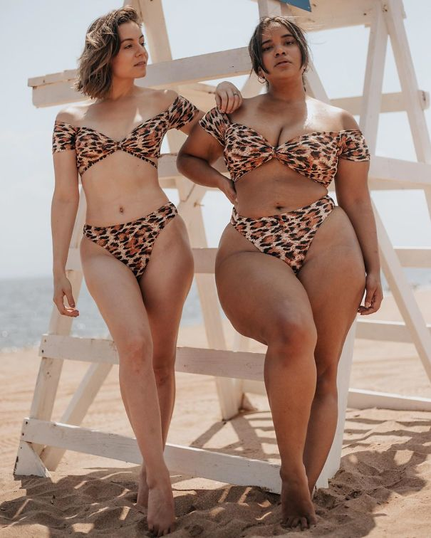 How Identical Garments Look On Totally different Physique Sizes