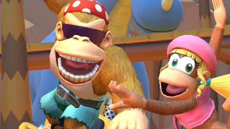 Funky and dixie kong have every joined Mario kart tour