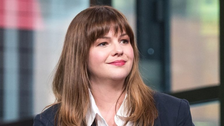 'No Disguise, No Veil for the physique': actress amber Tamblyn suggests off her armpit hair and her darkish roots whereas posing in a topless photograph to mark her 37th birthday