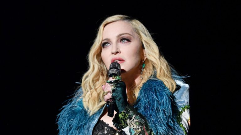 Madonna Bares It All In A See-By Bra In Newest Put up