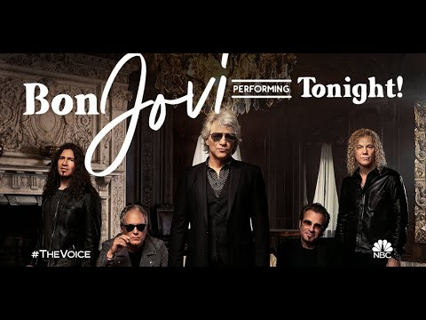 Bon Jovi performs new single infinite on the voice finale