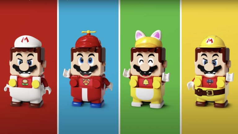 LEGO Mario can swimsuit up as Cat Mario and extra