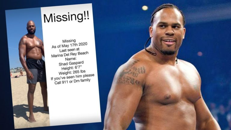 Former WWE wrestler Shad Gaspard lacking after seaside swim