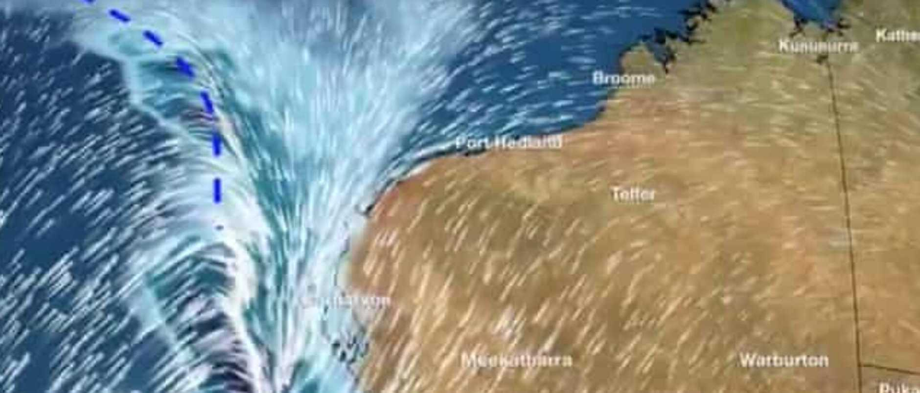 Ex-Tropical Cyclone Mangga set to make 'once-in-a-decade' storm to Western Australia