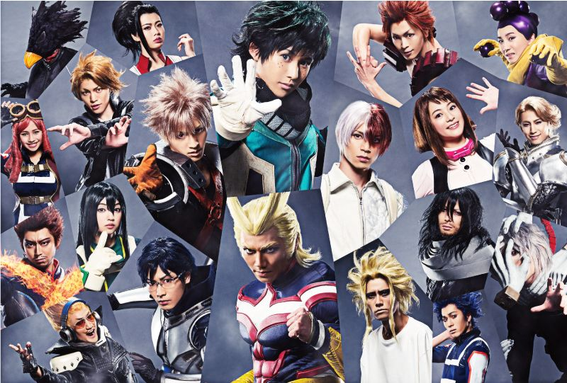 Finding Two Positive COVID-19 Patients My Hero Academia Stage Play's No-Audience Streaming Postponed?