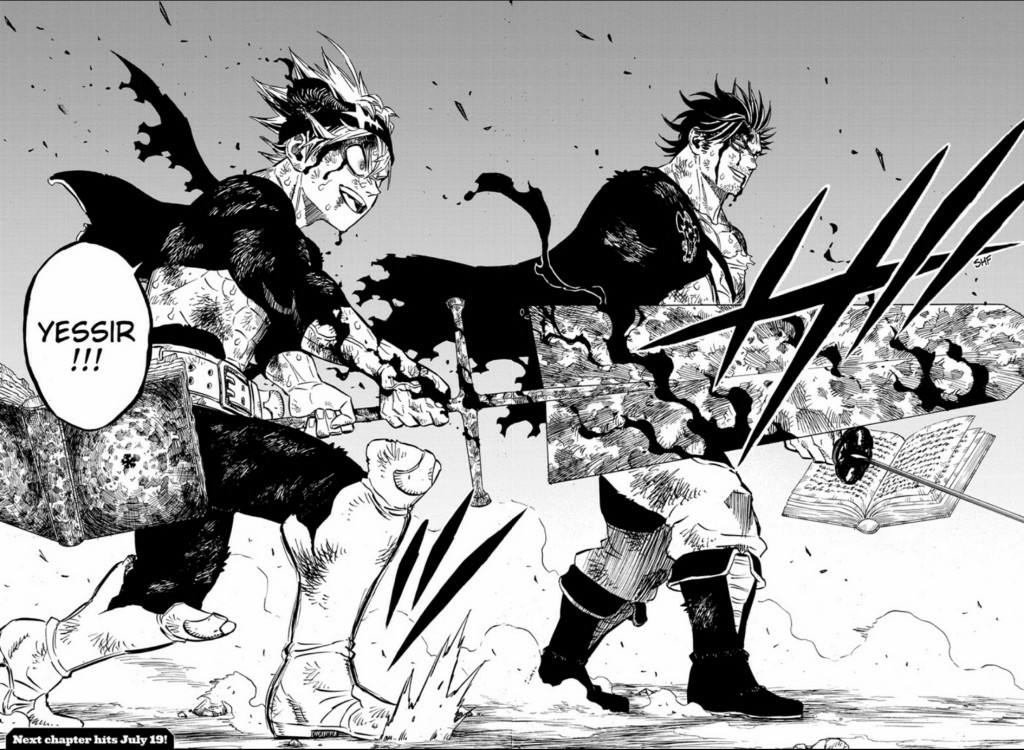Release date for 'Black Clover' chapter 258, spoilers alert: Asta returns to team up with Yami against Dante