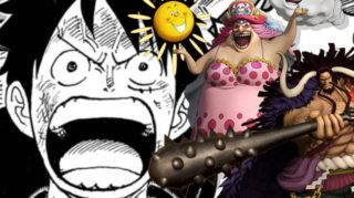 Luffy's Fight with Big Mom ar wano in One Piece Chapter?