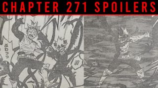 Raw Scan & Spoiler For Black Clover Chapter 271, Release and much more.